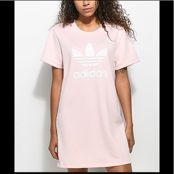 60da984c1ad8 Adidas Trefoil t-shirt dress